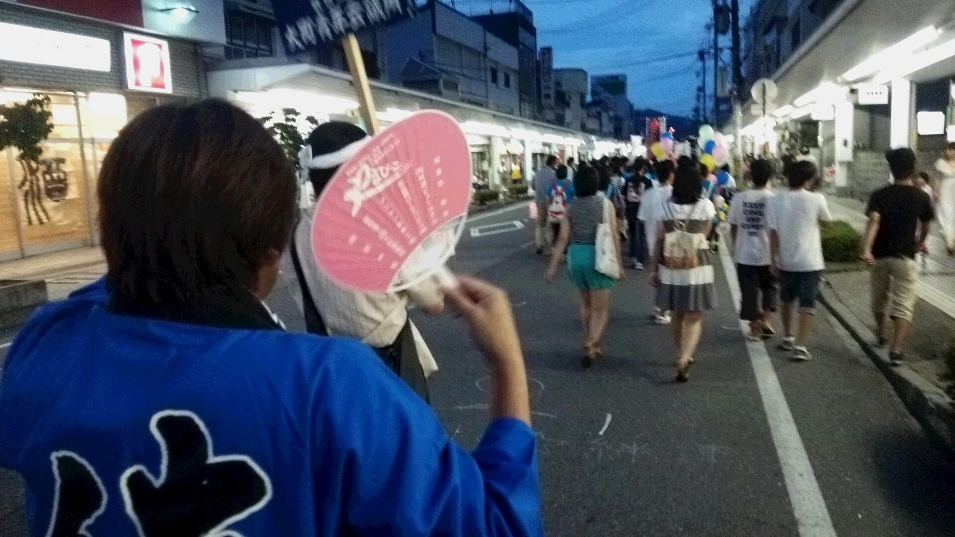 大町やまびこ祭りに参加しました。